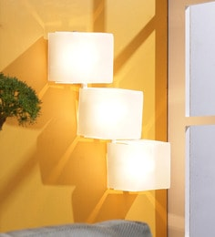 Jainsons Emporio Cube 3-Light Wall Light at pepperfry