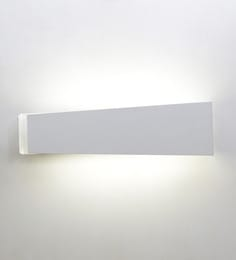 Jainsons Emporio Paramount White Led Wall Light at pepperfry