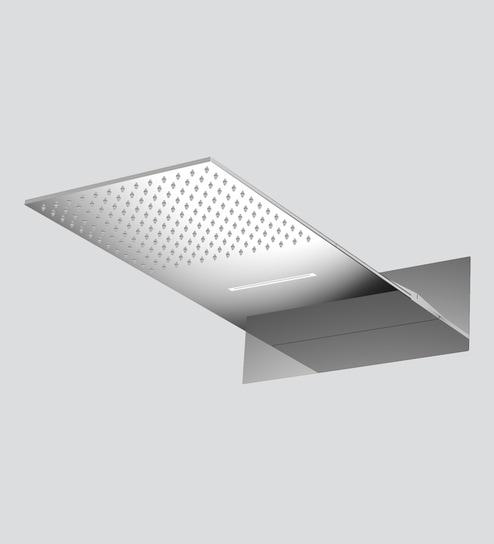 Buy Jaaz Wall Mount Silver Stainless Steel Dual Function Rain Shower