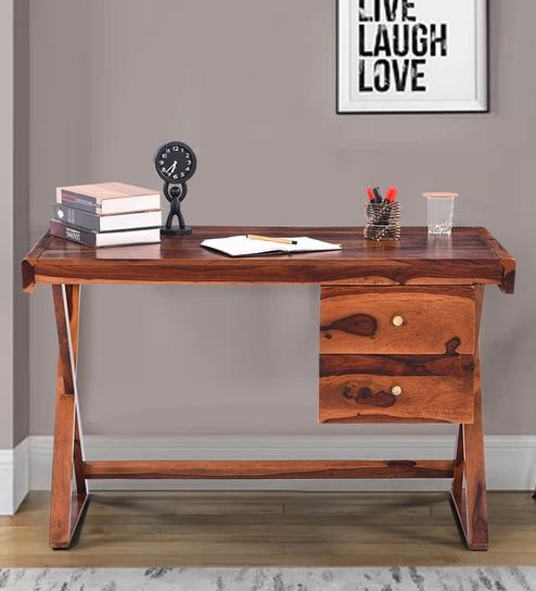 half off 73b70 1940c Jac Solidwood Study table by Royaloak