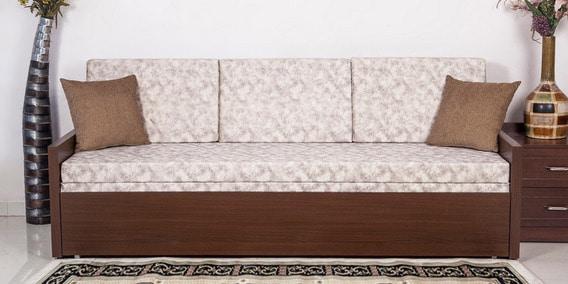 Jair Sofa Bed In Brown Colur By