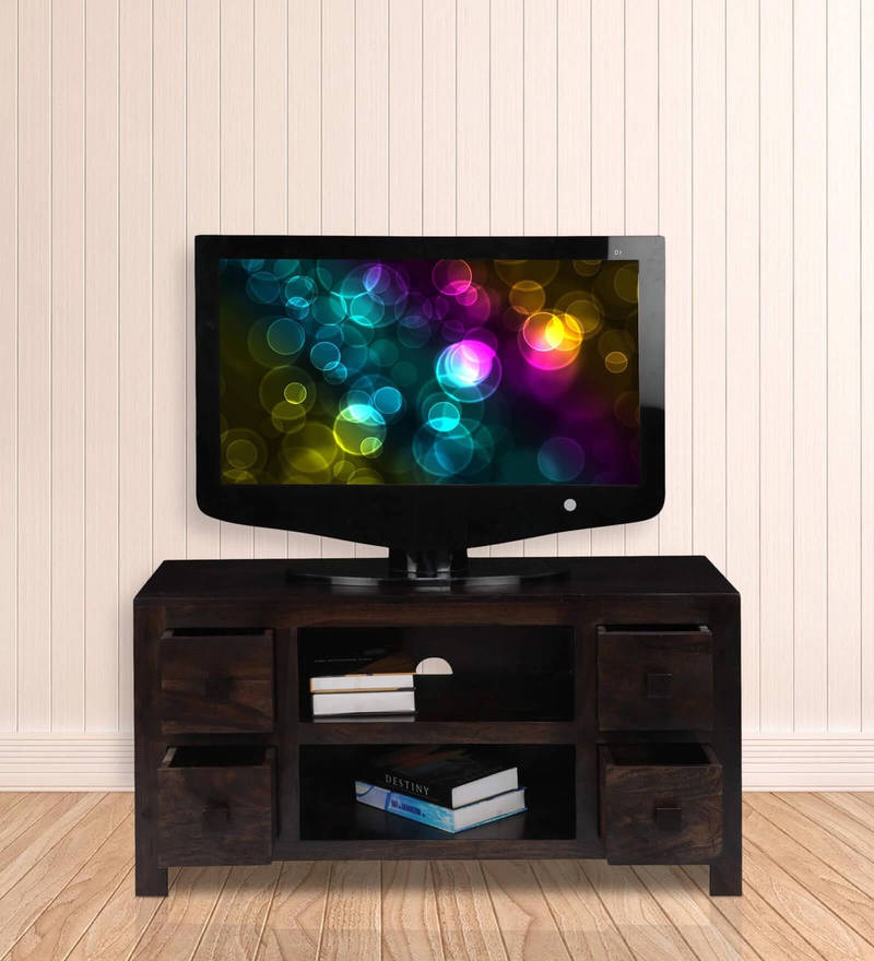 Jade Entertainment Unit in Mahogany Finish by Royal Oak