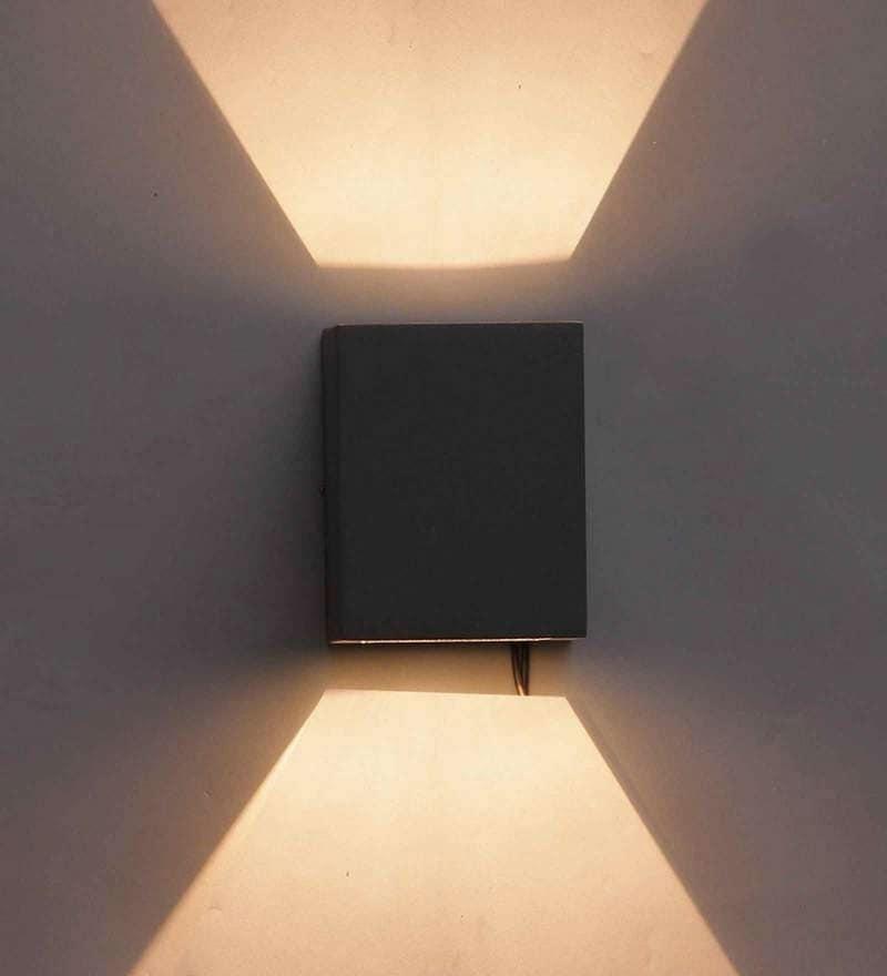 Belo Outdoor Wall Light in Black by Jainsons Emporio