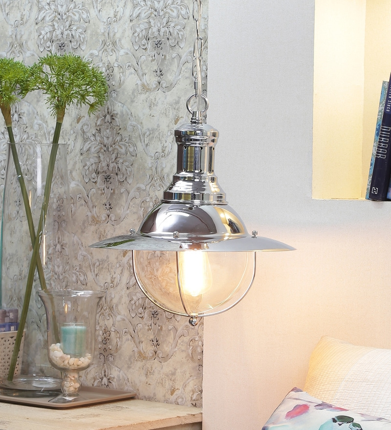Silver Fisherman's Pendant Light by Jainsons Emporio