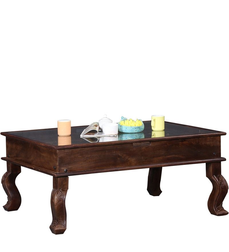 Buy Advaram Coffee Table in Provincial Teak Finish by  : jarasandha solid wood coffee table in provincial teak finish by mudramark jarasandha solid wood coff c8hhap from www.pepperfry.com size 800 x 880 jpeg 43kB