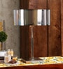 Bistro Silver Metal Table Lamp by Jainsons Emporio