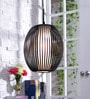Chasen Black Acrylic Pendant Lamp by Jainsons Emporio