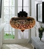 Gold Glass Aspar Pendant by Jainsons Emporio