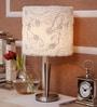 Jainsons Emporio Zaire Beige Metal Table Lamp