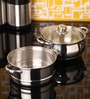 Stainless Steel 2 L Steamer with Lid Set by Jaipan