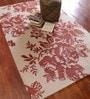Jaipur Rugs Antique White & Soft Coral Wool & Art Silk 60 x 96 Inch Area Rug