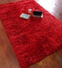 Asterlane Mars Red Polyester 60 X 96 Inch Carpet