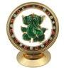 JaipurCrafts Multicolour Brass Lord Ganesha Inside Chakra