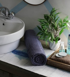JBG Home Store Grey 100% Cotton 30 X 72 Inch Bath Towel - 1 Bath Towel
