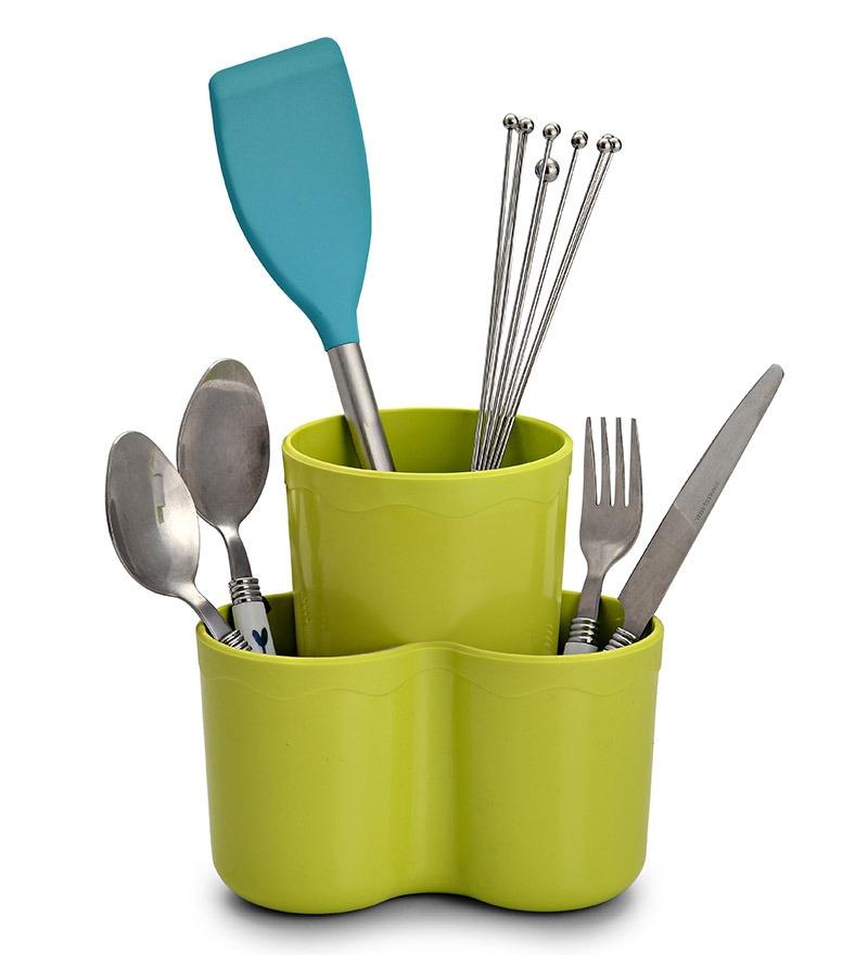 Jb'S Bud N Blossom Plastic Cutlery Holder
