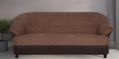 Jennifer Three Seater Sofa in Brown Colour