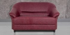 Jennifer Two Seater Sofa in Maroon Colour