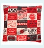 Jeel Red Polyester 16 x 16 Inch Cushion Covers - Set of 5