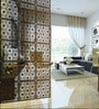 Wenge Acrylic with Wooden Lamination Room Divider by Planet Decor