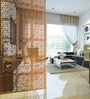 Brown Acrylic with Wooden Lamination Room Divider by Planet Decor