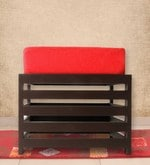 Jinjer High Rise Slatted Red Stool