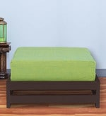 Jinjer Low Stool in Fluorescent Green Colour