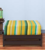 Jinjer Low Stool with Green Stripes