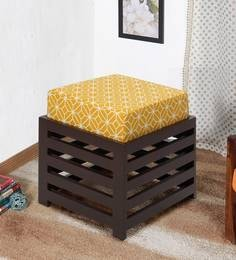 Jinjer Contemporary High Rise Stool In Ochre Colour