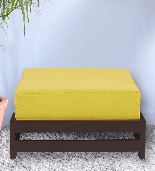 jinjer low stool in lemon yellow colour by arra yellow stools furniture o6 stools