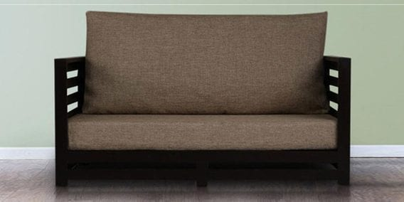 Jinjer Two Seater Jute Sofa By Arra