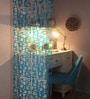 Blue Plexi Glass Stylish Designer Screen Dividers - Set of 10 by JILDA