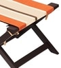 Jinjer Contemporary Foldable Stool in Rust Lines Colour by ARRA