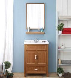 JJ Sanitaryware Aluminium Brown Bathroom Vanity (Model:JJv-14)