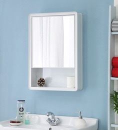 JJ Sanitaryware Aluminium White Bathroom Cabinet (Model:Gac-8)