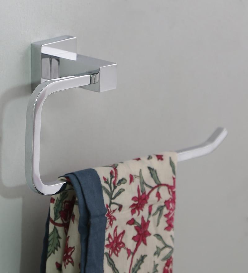 JJ Sanitaryware Metallic Brass Towel Ring (Model No: 1405)