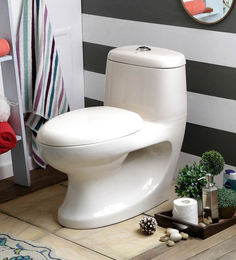 JJ Sanitaryware Antonio 200 mm Ivory Ceramic Water Closet