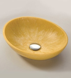 Joyo Cera Designer Golden Rod Wash Basin