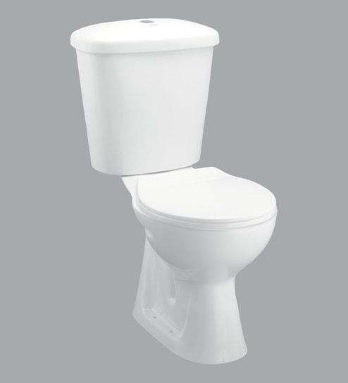 Johnson Europa White Ceramic Water Closet (Model: Europa-Fmc-P)