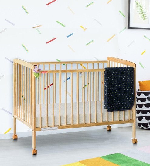 Buy Joy Baby Crib In Natural By Fisher Price Online Cribs