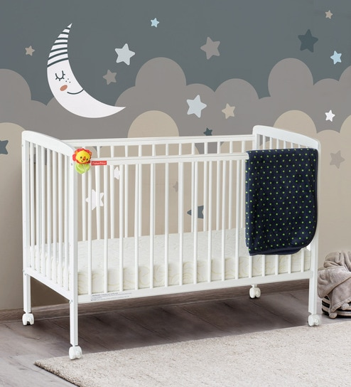 Buy Joy Baby Crib In White By Fisher Price Online Cribs Cradles