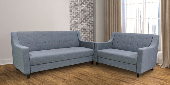 Buy Jolly 3 2 Sofa Set In Grey Colour By Primrose Online Modern Sofa Sets Sofa Sets Furniture Pepperfry Product