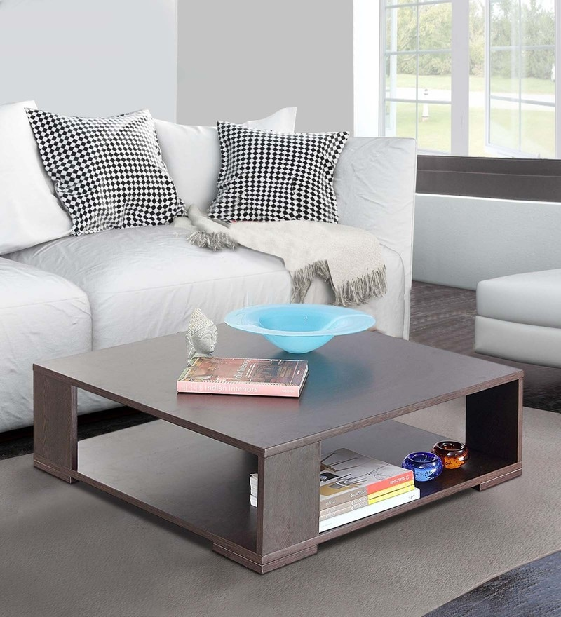 Buy Joss Square Coffee Table In Wenge Colour By Forzza Online