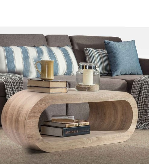 Justin Coffee Table in Brown Colour by Durian