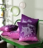 Just Essential Multicolour Cotton 16 x 16 Inch Durable Cushion Covers - Set of 5