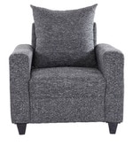 Kayoto One Seater Sofa in Grey Colour