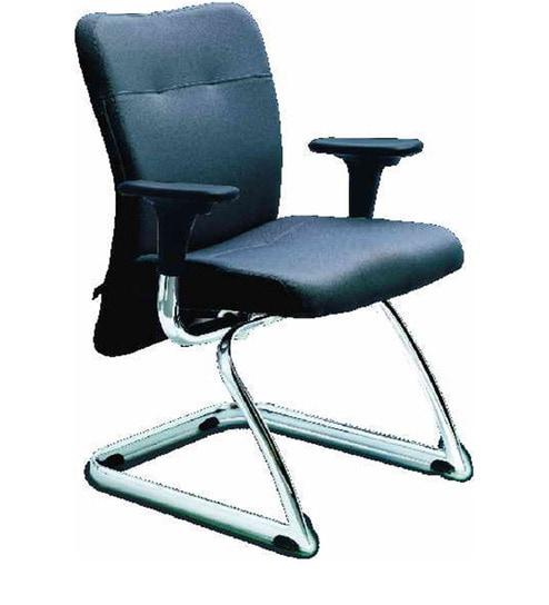 Kareena Visitor Chair in Black Colour by Godrej Interio by Godrej