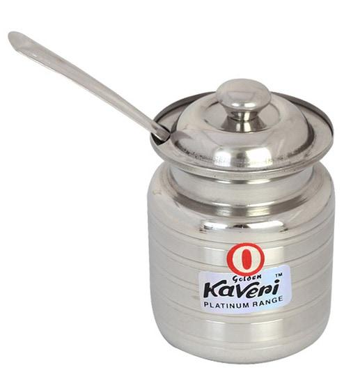 Buy Kaveri Silver 200 Ml Oil Ghee Container Online Oil Vinegar