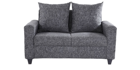 Kayoto Two Seater Sofa In Grey Colour By Looking Good Furniture