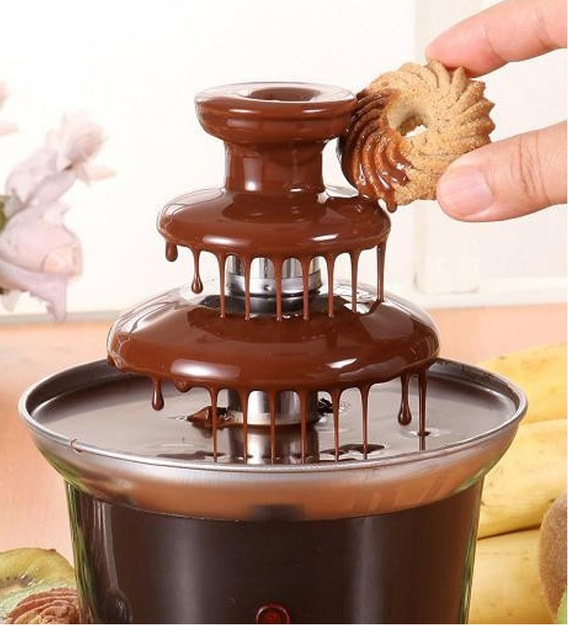 Buy Kawachi 3 Tier Mini Chocolate Fondue Fountain Online - Air Fryers - Air  Fryers - Kitchen Appliances - Pepperfry Product