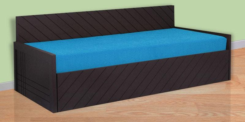 Kaiden Sofa Cum Bed in Sky Blue Colour by Auspicious Home